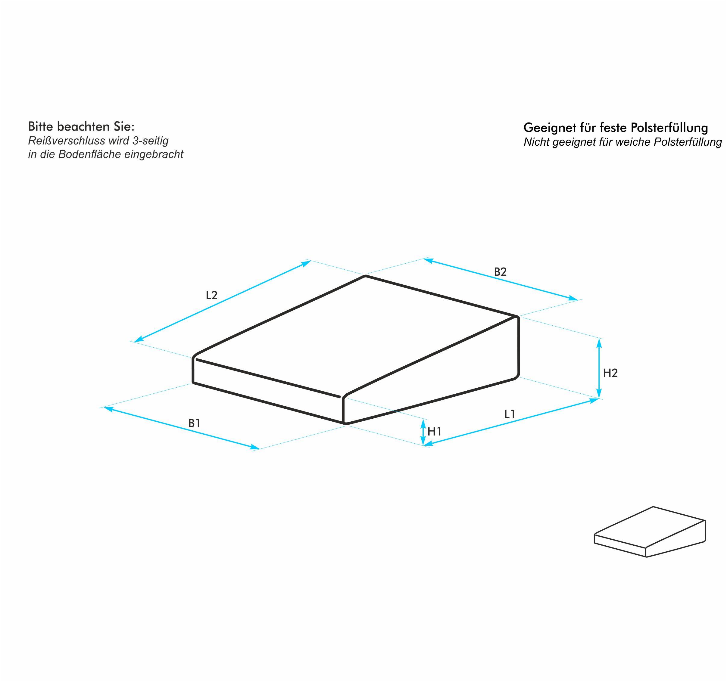 keilkissenbezug nach ma elastischer kissenbezug kissenh lle mit rei verschlu f r ein. Black Bedroom Furniture Sets. Home Design Ideas