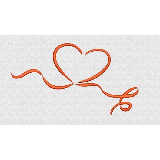 Herz mit Schleife