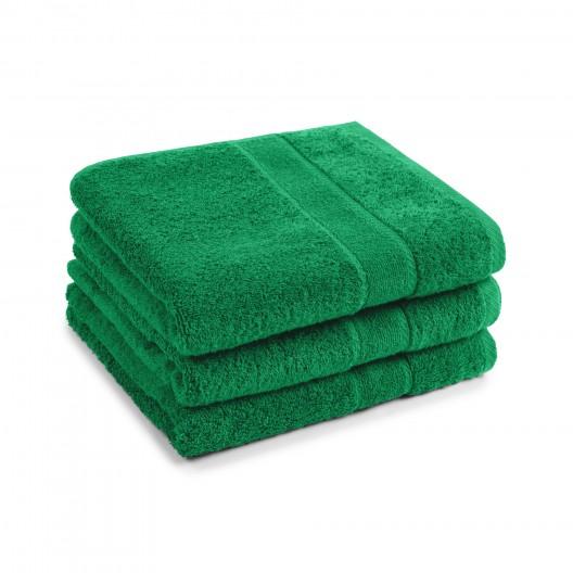 50x100 cm harti PromoLineFarbe smaragd, Stapel aus 3 Tüchern