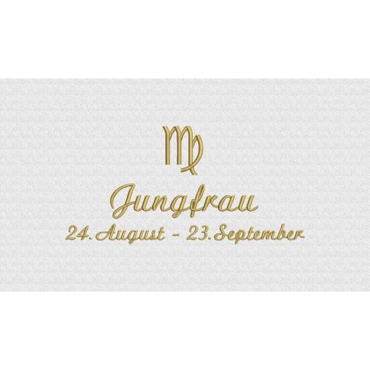 Jungfrau (24. August - 23. September)