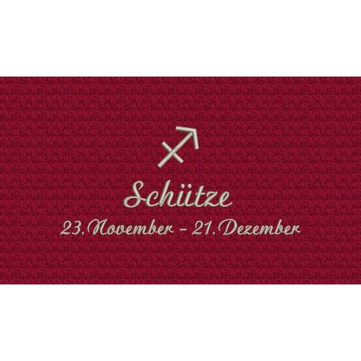 Schütze (23. November - 21. Dezember)