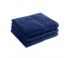 70x140 cm harti PromoLine Farbe nachtblau, Stapel aus 3 Tüchern