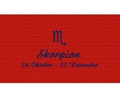 Skorpion (24. Oktober - 22. November)