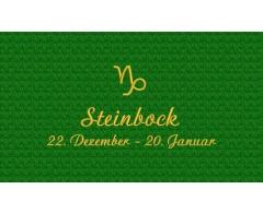 Steinbock (22. Dezember - 20. Januar)