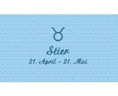 Stier (21. April - 20. Mai)