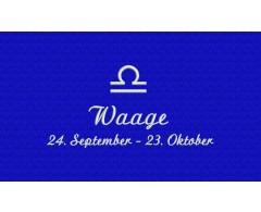 Waage (24. September - 23. Oktober)