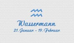Wassermann (21. Januar - 19. Februar)
