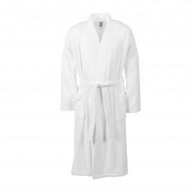 Bademantel Größe S in Farbe weiß für Damen und Herren, Kimonoschnitt, harti ProfiLine®
