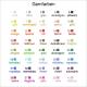 Garnfarben für Ihre Stickerei