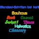 Standard-Schriftarten