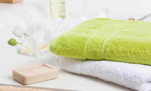 Tücher der Handtuch-Serie TIFFANY