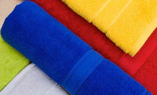 Tücher der Handtuch-Serie FAN