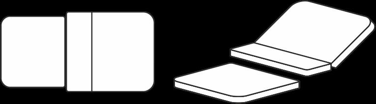 Grafik für Entbindungsbettbezug für Entbindungsbett Vivipar-Innova ohne Mayaausschnitt