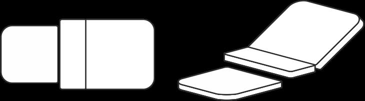 Grafik für Entbindungsbettbezug für Entbindungsbett Vivipar-Classic 1.2
