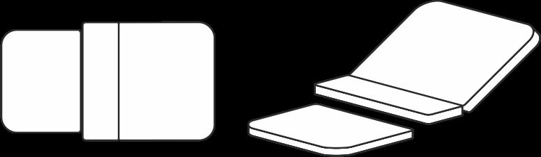 Grafik für Entbindungsbettbezug für Entbindungsbett Vivipar-Classic 1.4