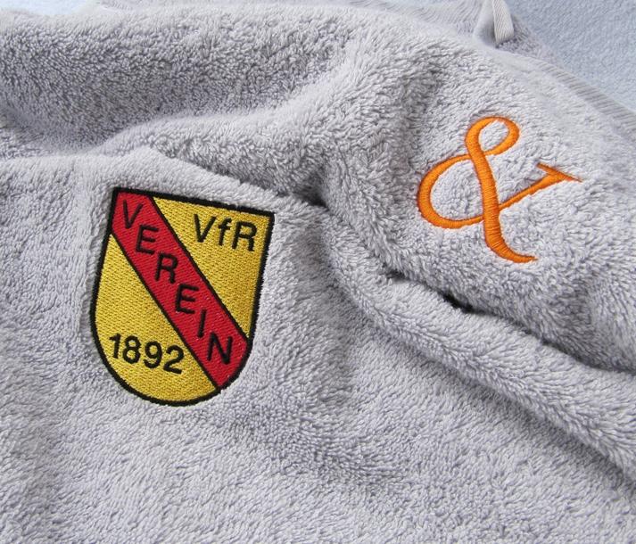 Stickerei mit Logo oder individuellem Motiv